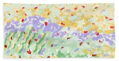 Modern Landscape Painting 3 Hand Towel