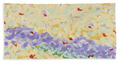 Modern Landscape Painting 4 Hand Towel