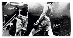 Mohamed Ali Float Like A Butterfly Bath Towel