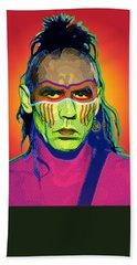Mohawk Hand Towel by Gary Grayson