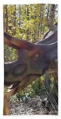 Mojoceratops Bath Towel
