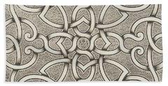 Mollet Design For A Parterre Hand Towel
