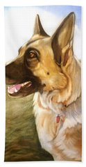 Mollie Hand Towel by Marilyn Jacobson
