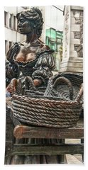 Bath Towel featuring the photograph Molly Malone by Hanny Heim