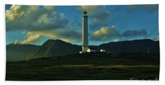Molokai Lighthouse Hand Towel by Craig Wood