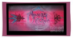 Momma's Kitchen  Hand Towel by Talisa Hartley