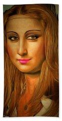 Mona Lisa Teen - Da Hand Towel