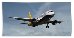 Monarch Airlines Airbus A320-214 Bath Towel