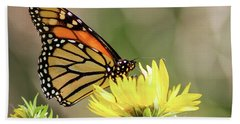 Monarch Butterfly 071416 Hand Towel