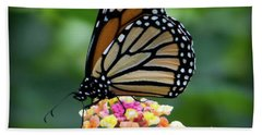 Monarch Butterfly Art II Bath Towel