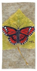 Monarch Butterfly Hand Towel by Ralph Root
