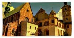 Monastery In The Wachock/poland Bath Towel