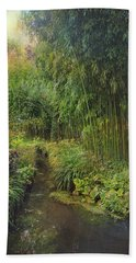 Monets Paradise Bath Towel
