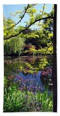 Monet's Pond Bath Towel
