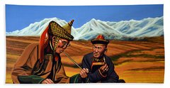 Mongolia Land Of The Eternal Blue Sky Bath Towel