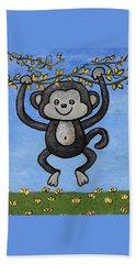 Monkey For Elli Bath Towel