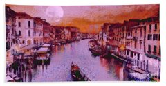 Monkey Painted Italy Again Hand Towel