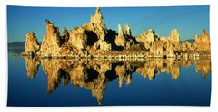 Mono Lake California Sunset - Landscape Bath Towel