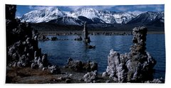 Mono Lake-signed Bath Towel