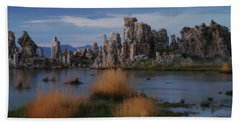 Mono Lake Tufas Hand Towel