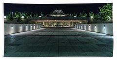Monona Terrace Hand Towel by Randy Scherkenbach