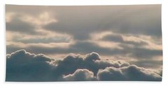 Monsoon Clouds Bath Towel