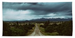Monsoons From The Meadows Hand Towel by Jason Coward