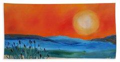 Montana Firery Sunset             49 Bath Towel