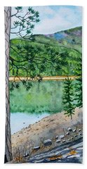 Montana - Lake Como Bath Towel