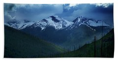 Montana Mountain Vista #2 Hand Towel