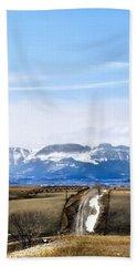Montana Scenery One Bath Towel
