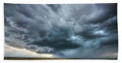 Montana Thunderstorm Bath Towel
