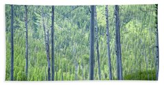 Montana Trees Hand Towel