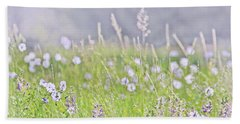 Hand Towel featuring the photograph Montana Wildflowers Lavender by Jennie Marie Schell