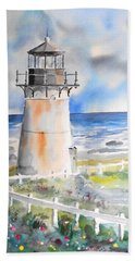 Montara Lighthouse Bath Towel