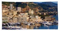Monte Carlo Hand Towel by Tom Prendergast