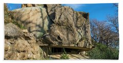 Bath Towel featuring the photograph Monte Moro Bunkers - Bunkers Monte Moro by Enrico Pelos