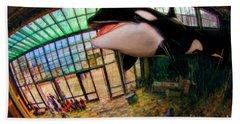 Monterey Bay Aquarium Killer Whale Hand Towel