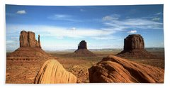 Monument Valley Arizona - Landscape Bath Towel