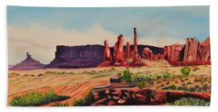 Monument Valley Bath Towel