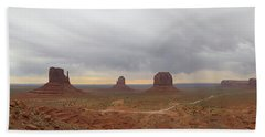 Monument Valley Panorama Bath Towel
