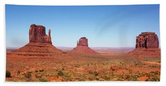 Monument Valley Utah The Mittens Bath Towel