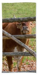 Bath Towel featuring the photograph Moo by Bill Wakeley