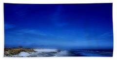 Mood Of A Beach Evening - Jersey Shore Hand Towel