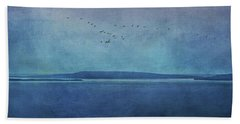 Moody  Blues - A Landscape Bath Towel