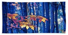 Bath Towel featuring the photograph Moody Woods by Aimelle