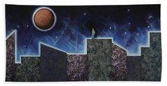 Moon Eclipse Hand Towel