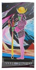 Blaa Kattproduksjoner             Moon God - Osiris Bath Towel