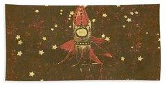Moon Landings And Childhood Memories Hand Towel