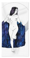 Moon Magick Bath Towel